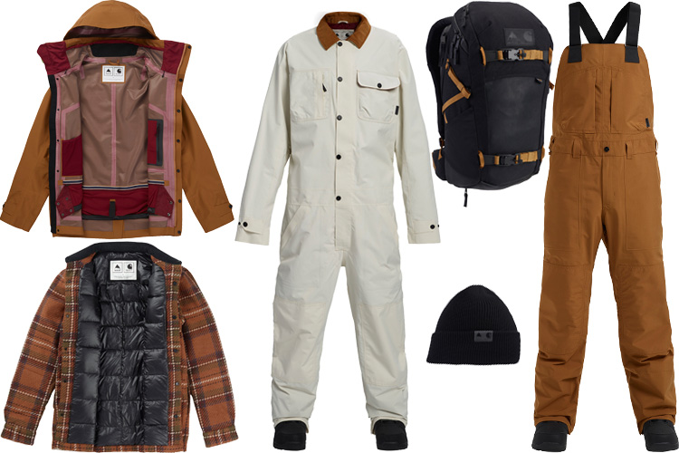 Carhartt WIP burton snowboard capsule collection collaboration lappoms lifestyle blog