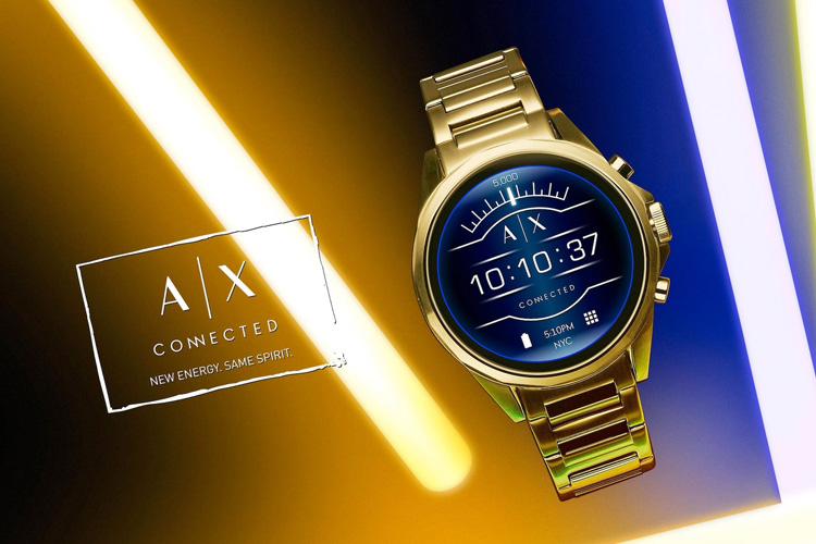 Armani Exchange smartwatch lappoms lifestyle blog