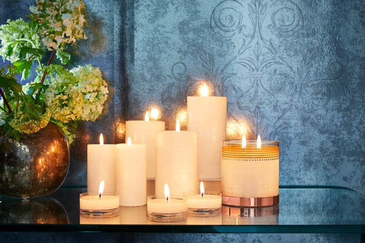 partylite bougie noel lappoms lifestyle blog