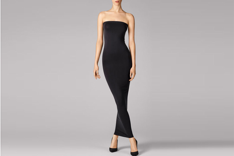 wolford fatal dress black underwear lappoms lifestyle blog