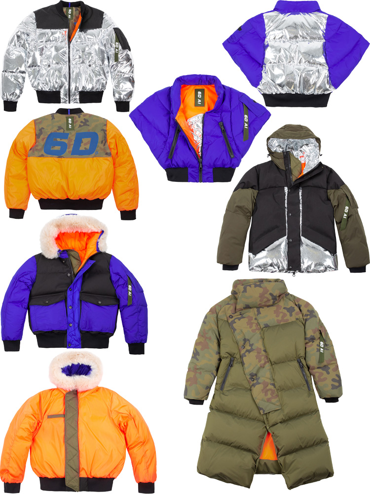 SIX DECADES ALPHA INDUSTRIES 6DAI outerwear lappoms lifestyle blog bombers