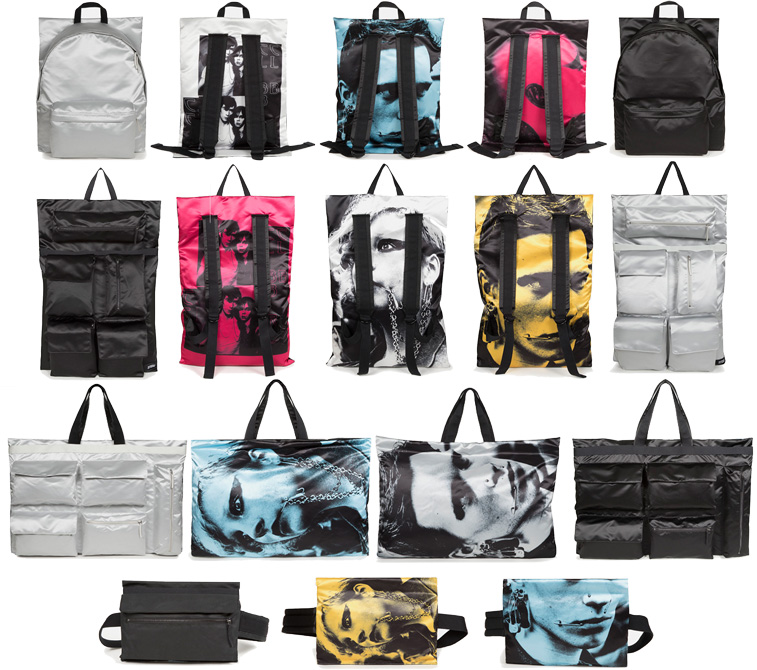 raf simons eastpak limited edition backpack poster lappoms lifestyle blog