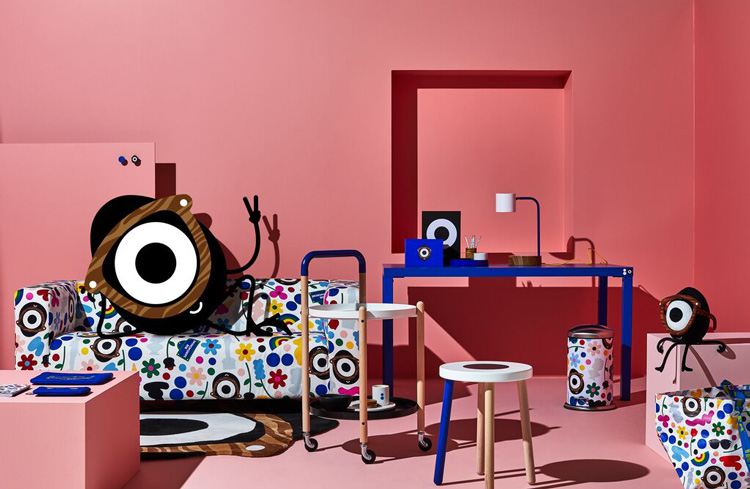 IKEA FORNYAD collaboration Sarah Andelman Craig Redman Darcel COLETTE LAPPOMS LIFESTYLE BLOG