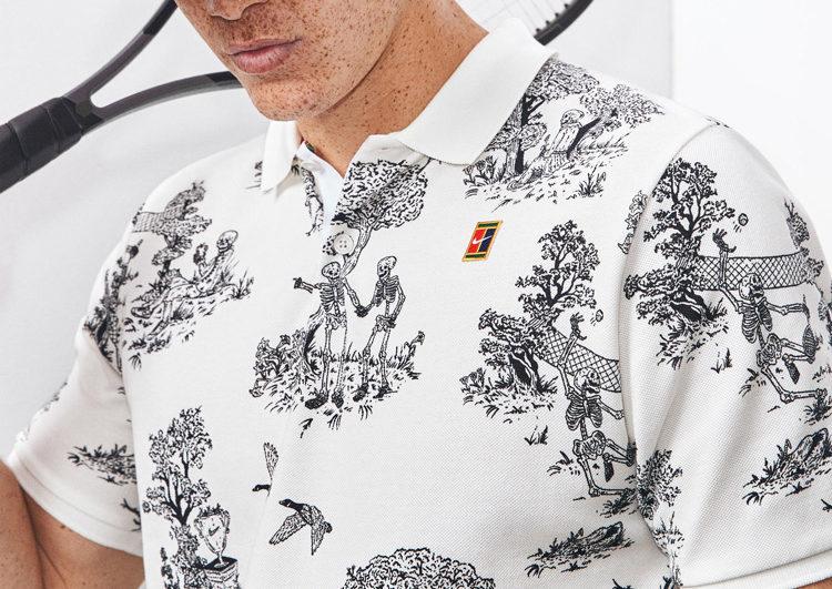 NikeCourt Paris Collection Roland Garros toile de Jouy LAPPOMS LIFESTYLE BLOG