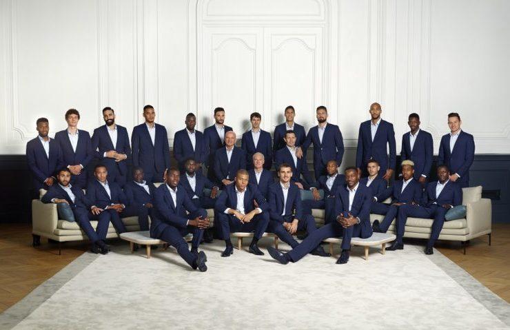 Photo officielle equipe de france de football smalto tenue 2-etoiles lappoms lifestyle blog