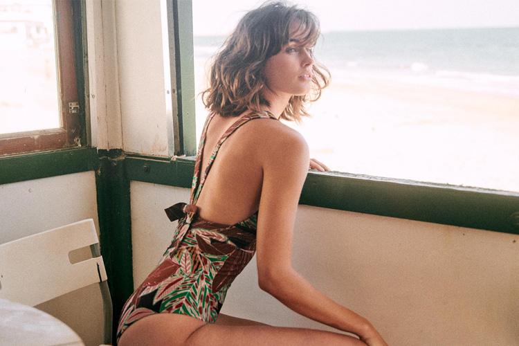 Sezane YSE Maillot de bain SS19 collab lappoms lifestyle blog