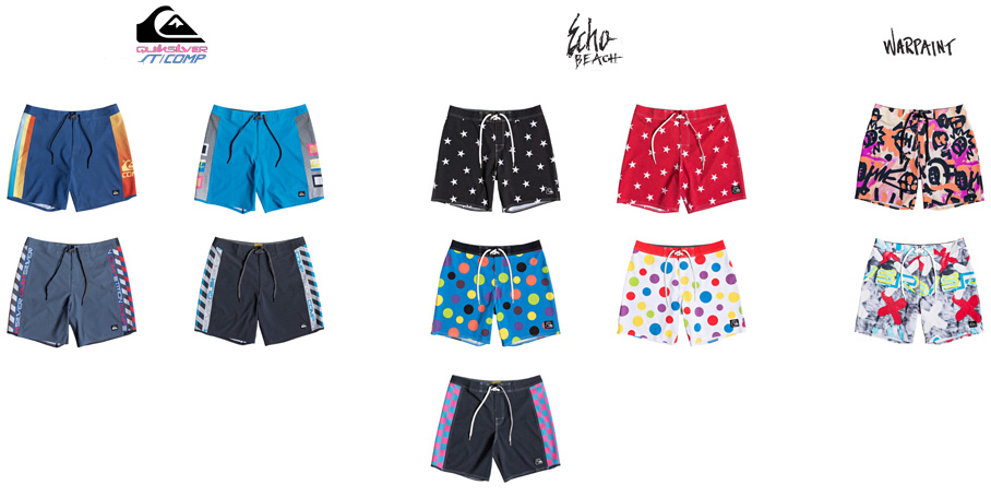 Quiksilver DNA collection boardshort lappoms lifestyle blog