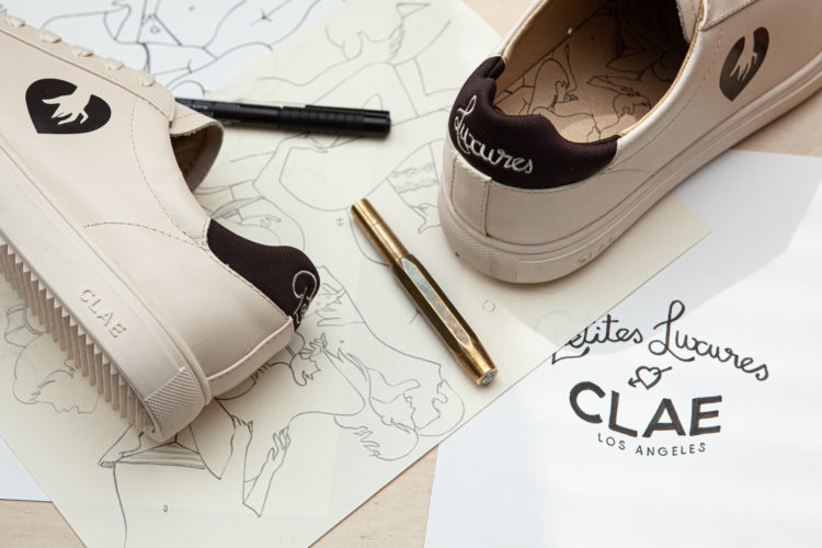 sneakers Bradley Clae Petites Luxures_Collab_capsule collection Lappoms Lifestyle Blog