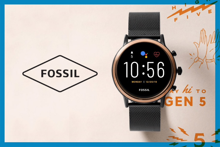 Fossil smartwatch Gen5 Lappoms lifestyle blog