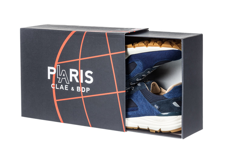 EDWIN CLAE Bleu de Paname Denim Capsule Collection SHOEBOX Lappoms Lifestyle blog
