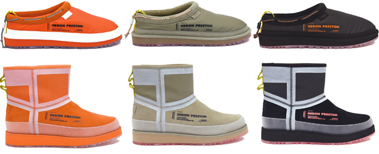 Heron Preston UGG Capsule Collection Lappoms Lifestyle Blog