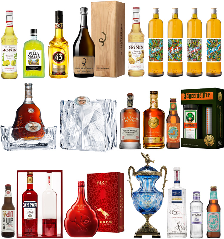 Monin Campari Jagermeister Brooklyn brewery Hennessy Bacardi Suze Lappoms Lifestyle Blog