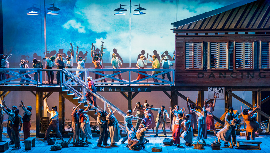 a scene from porgy and bess photo Tristan Kenton english national opera Artrotters Lifestyle Blog Lappoms