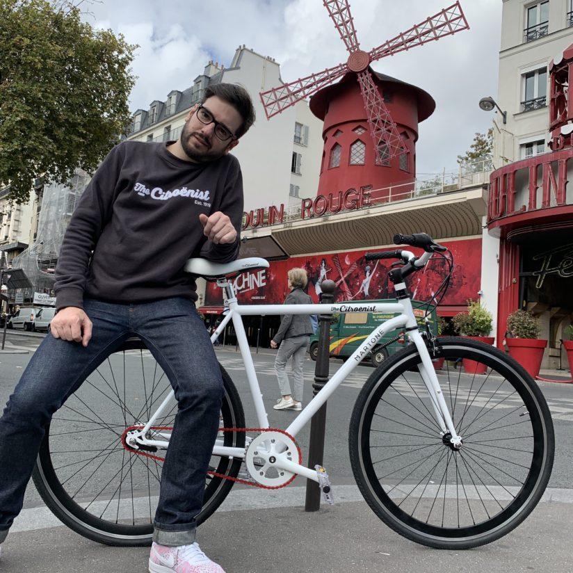 Martone cycling the rider citroënist citroën Lappoms Lifestyle Blog Test