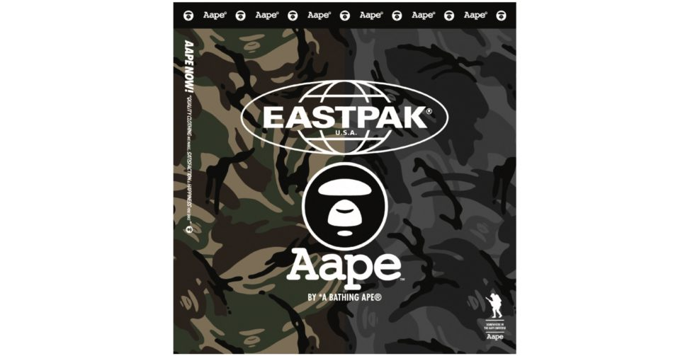 AAPE BAPE EASTPAK COLLAB CAMO LAPPOMS LIFESTYLE BLOG