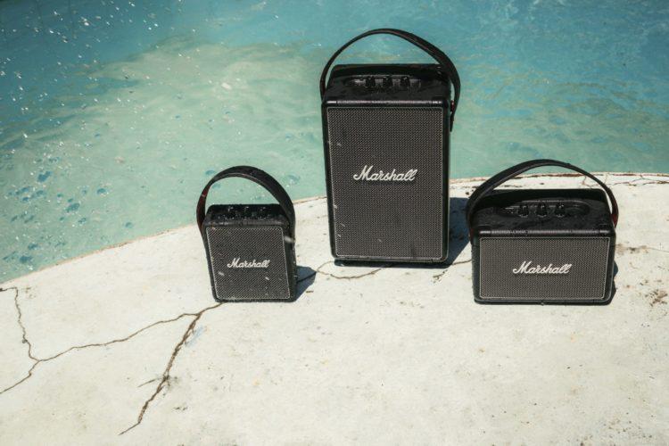 marshall portable speakers Kilburn II Stockwell II Tufton Lappoms Lifestyle Blog