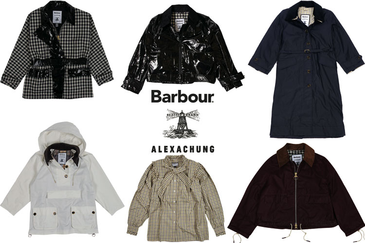 Barbour Alexa Chung Capsule-Collection Collab Lappoms Lifestyle blog