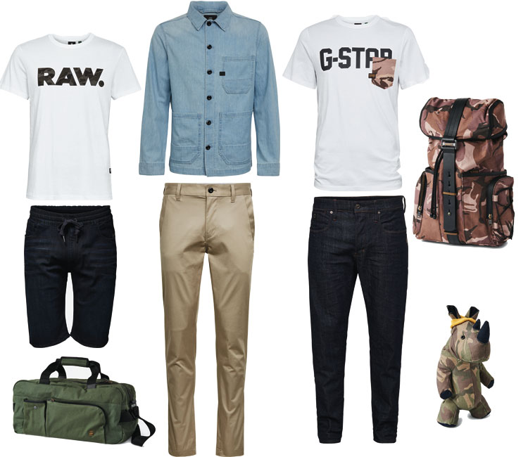 g-star raw collection SS20 denim Lappoms Lifestyle Blog