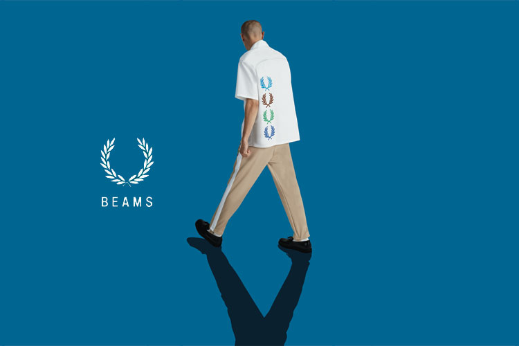 Fred Perry beams Japan Capsule Collection Lappoms lifestyle blog