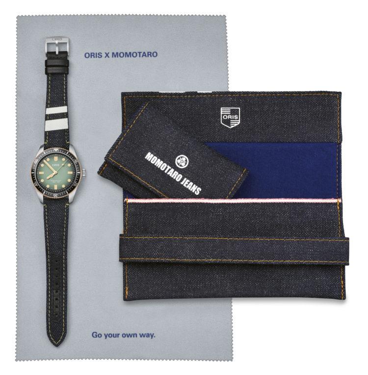 Oris, Momotaro Jeans, Watches, collab, Denim, Lappoms, Lifestyle, Blog