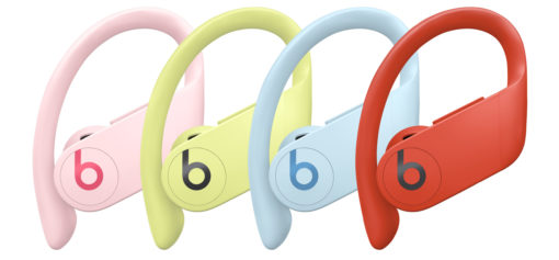 powerbeats pro, cloud pink, Glacier blue, lava red, Spring yellow, Jaune Printemps, Rose nuee, Rouge lave, Bleu glacier, lappoms, lifestyle blog