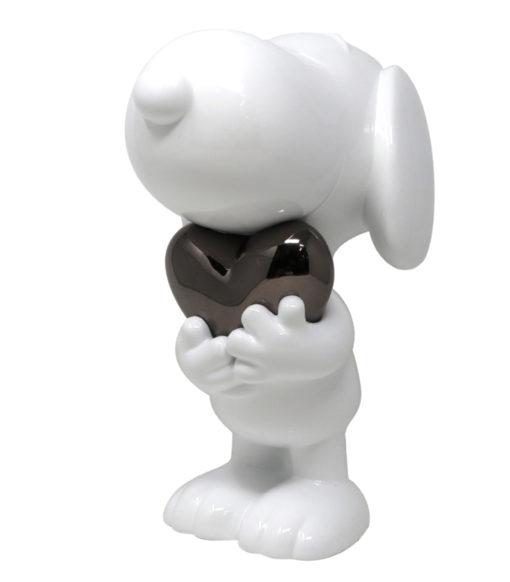 Artoyz.com, Leblon Delienne, Snoopy blanc & coeur platine, art toys, medicom, Lappoms, lifestyle blog