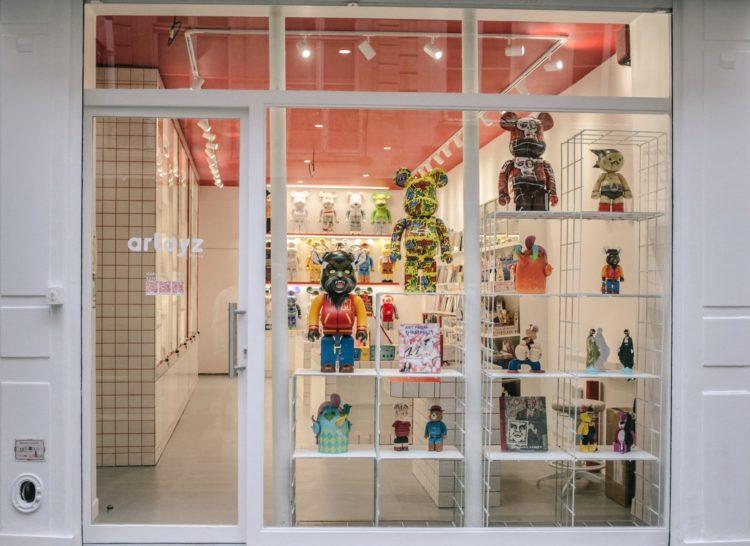 Artoyz paris, art toys, medicom, Lappoms, lifestyle blog