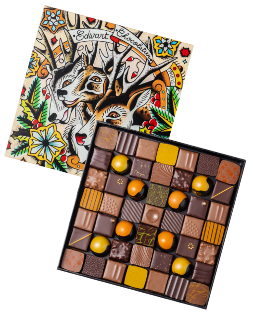 COFFRET NOEL, Edwart Chocolatier, Lappoms, Lifestyle Blog