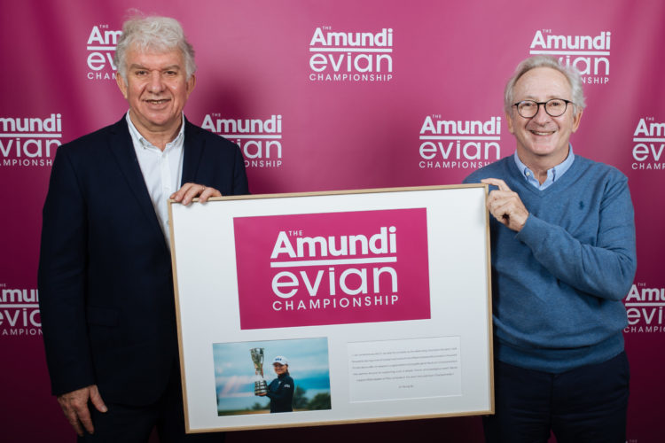 The Amundi Evian Championship, Yves Perrier, Franck Riboud, Golf, Lappoms, lifestyle blog