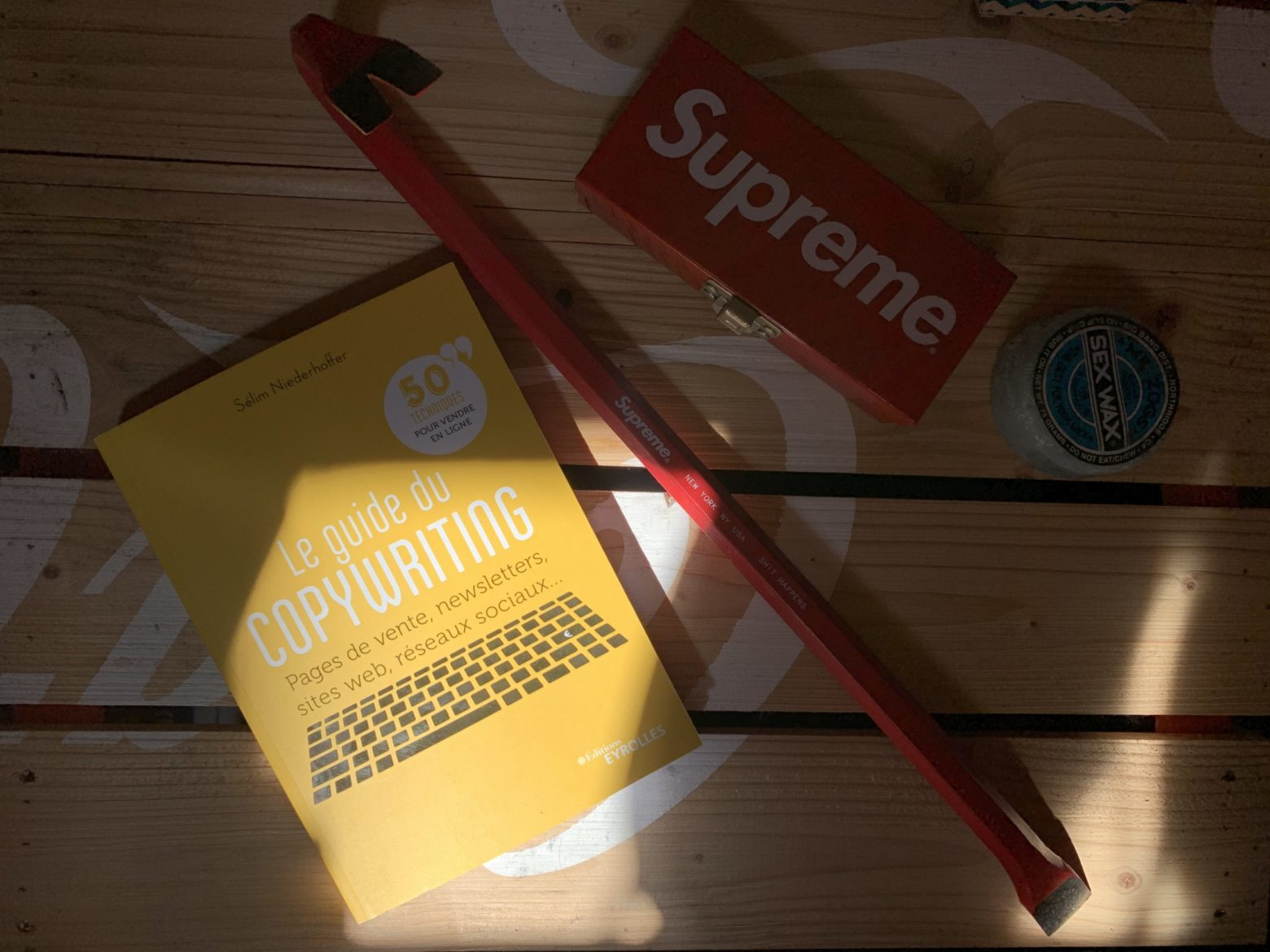LE GUIDE DU COPYWRITING, SÉLIM NIEDERHOFFER, LAPPOMS, Lifestyle Blog, Supreme