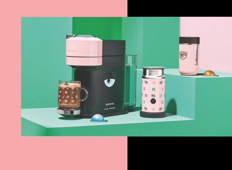ICED COFFEE, Chiara Ferragni, Vertuo, Nespresso, Lappoms, lifestyle Blog