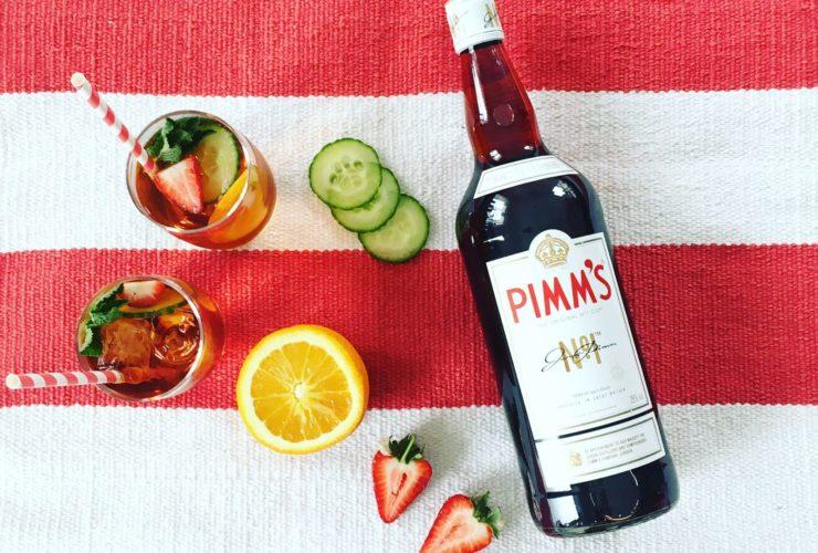 Pimm's no1, cocktail, lappoms, lifestyle blog, drink