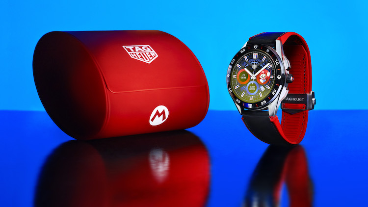 Tag Heuer, Connected, Super Mario, collab, limited edition, watches, lappoms, Lifestyle blog