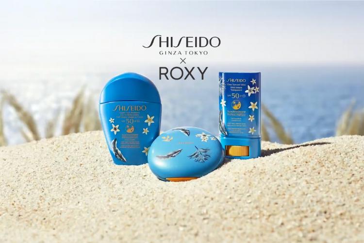 shiseido, roxy, capsule collection, lotion, stick, solaire, lappoms, lifestyle blog