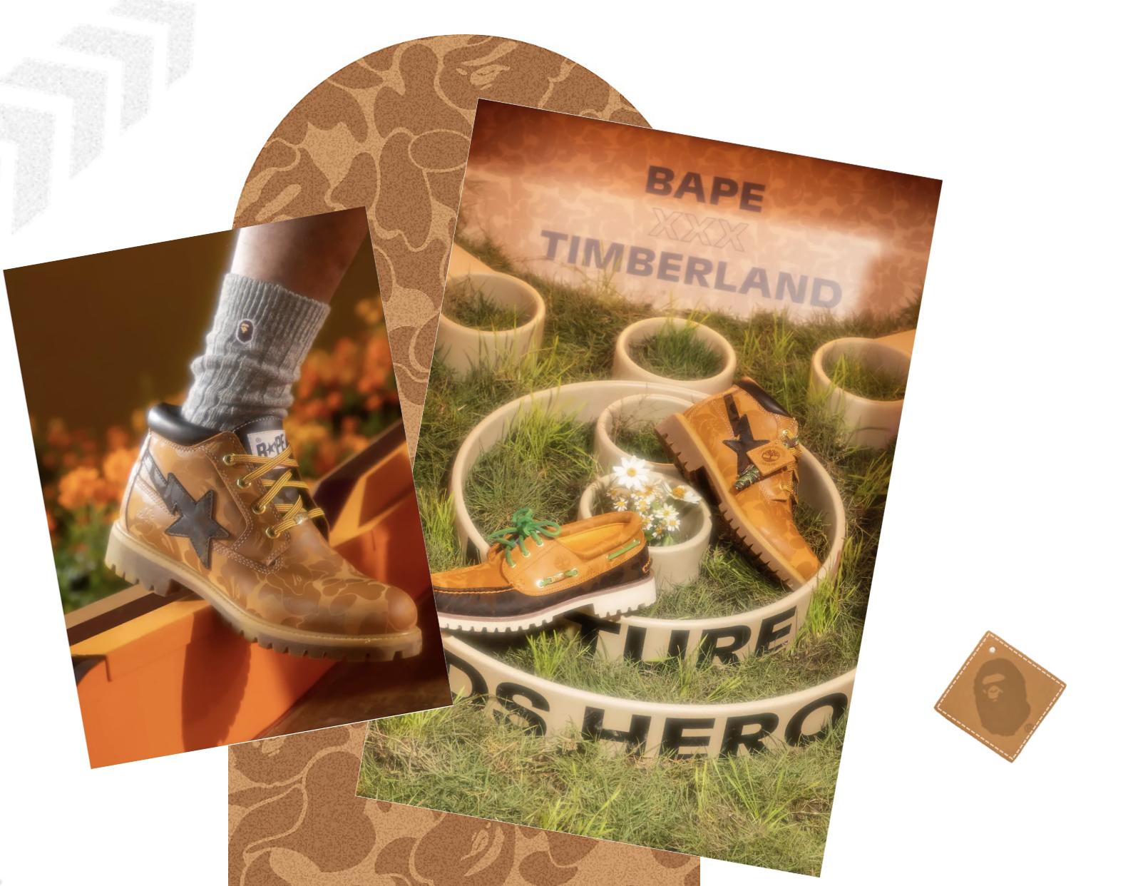 BAPE, Timberland, Lappoms, Lifestyle Blog