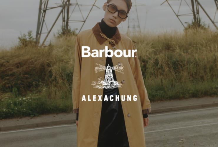 Barbour, ALEXACHUNG, collab, Lappoms, lifestyle blog